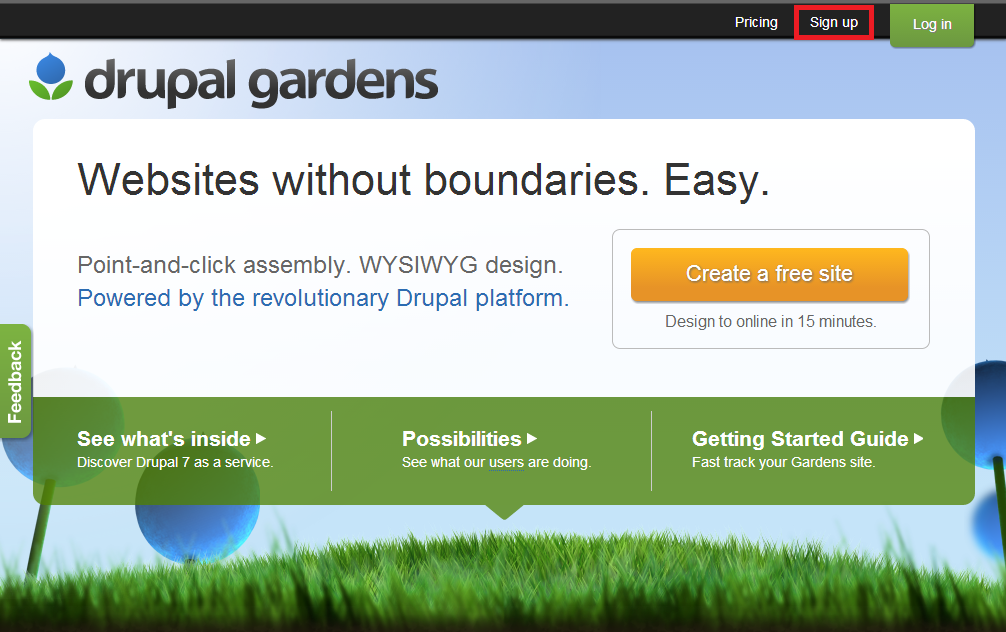 Starting A Blog On Drupal Gardens: A Step By Step Guide